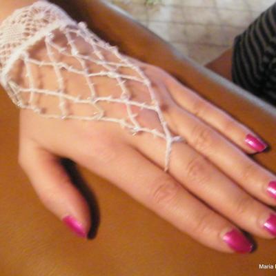 Bijoux dentelle main